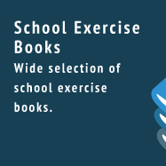 Exercise Books - Wide selection of school exercise books.